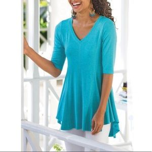 Soft Surroundings Perfect A-Line Top